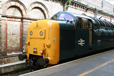 55 019 at Crewe on 3rd July 2005 (2)