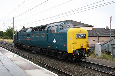 5) 55 022 at Warrington Bank Quay on 4th September 2008