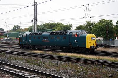 2) 55 022 at Warrington Bank Quay on 4th September 2008