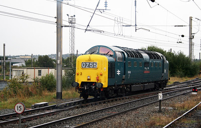 7) 55 022 at Warrington Bank Quay on 4th September 2008