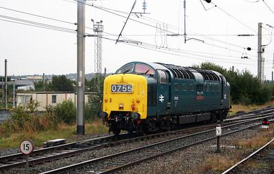 7) 55 022 at Warrington Bank Quay on 4th September 2008