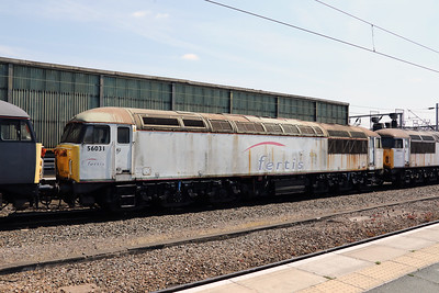 56 031 at Crewe on 6th July 2018 (1)