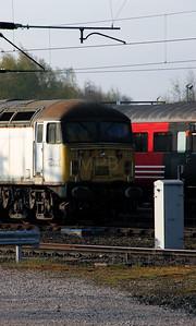 2) 56 031 at Crewe DMD on 20th April 2012