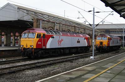 2) 57 311 at Crewe on 14th November 2004