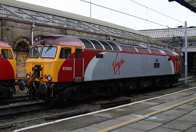 1) 57 302 at Crewe on 14th November 2004