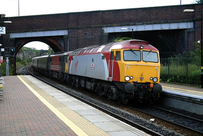 57 307 at Wavertree Technology Park on 29th August 2004