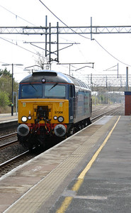 57 308 at Acton Bridge on 19th April 2016