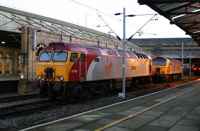 2) 57 310 at Crewe on 13th November 2004