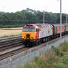 57 315 at Winwick Junction on 21st July 2006, 1H90 1320 Holyhead - Man Picc