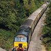 1) 57 301 between Frodsham Junction and Halton Junction (Halton Curve) on 20th August 2017