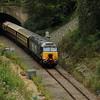 4) 57 301 between Frodsham Junction and Halton Junction (Halton Curve) on 20th August 2017
