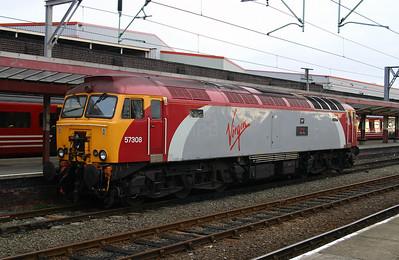 57 308 at Crewe on 14th November 2004