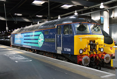 57 308 at London Euston on 7th October 2014 (3)