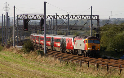 1) 57 305 at Winwick Junction on 5th September 2004