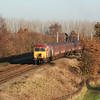 57 314 at Moore on 12th December 2005, Working 1D64 1003 MAN-HHD (1)
