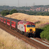 57 315 at Daresbury on 17th July 2006, Working  1H34 0600 HHD-MAN (2)