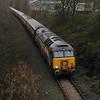 57 305 between Frodsham Junction & Halton Junction on 18th December 2014 (6)