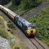 5) 57 301 between Frodsham Junction and Halton Junction (Halton Curve) on 20th August 2017