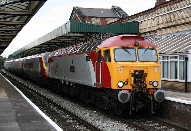 57 301 at Warrington Central on 22nd September 2007