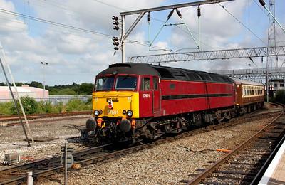 57 601 at Crewe 13th June 2009