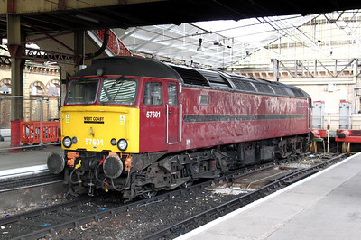57 601 at Crewe on 21st August 2009 (3)