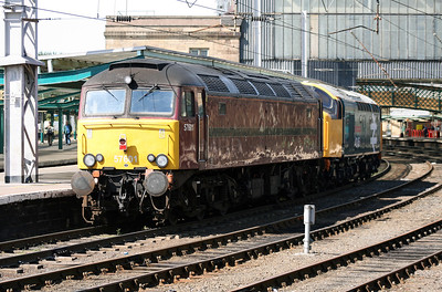 57 601 at Carlisle on 22nd August 2007 (2)