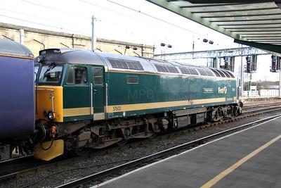 57 603 at Carlisle on 30th November 2009 (11)