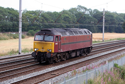 57 601 at Winwick Junction on 21st July 2006, 0Z47 1230 Butterley - Carnforth
