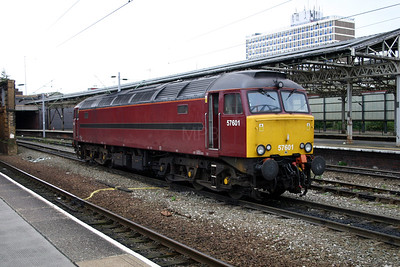 2) 57 601 at Crewe on 27th September 2004