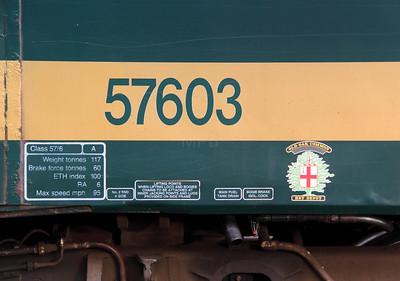 57 603 at Carlisle on 30th November 2009 (9)