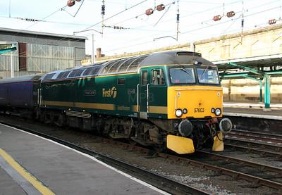 57 603 at Carlisle on 30th November 2009 (6)