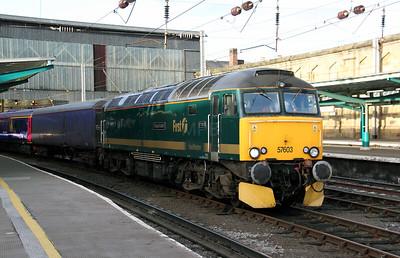57 603 at Carlisle on 30th November 2009 (3)
