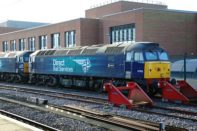 57 002 at York on 20th January 2020