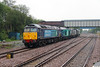 57 012 at Earlestown on 1st August 2014 (2)