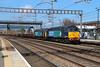57 007 & 57 012 at Rugeley Trent Valley on 1st April 2014
