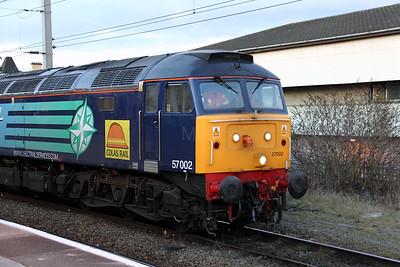 57 002 at Warrington Bank Quay on 10th February 2010 (24)