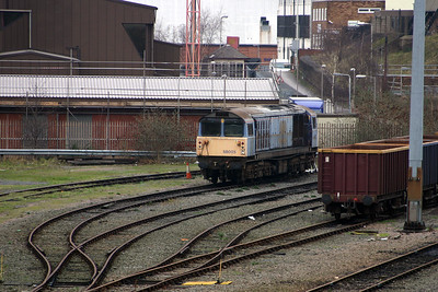 2) 58 005 at Leiceseter Depot on 3rd February 2005