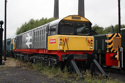 58 001 at Barrow Hill Museum on 30th June 2007