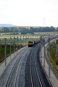 1) 58 040 near Livry Louvercy (D19 road bridge) on 3rd August 2005