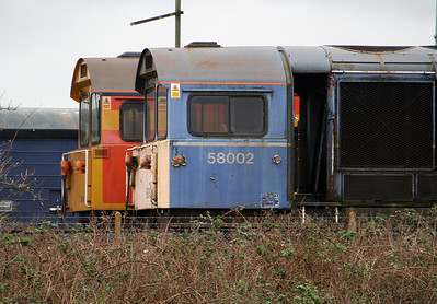 58 002 at Eastleigh Depot on 12th January 2007 (1)