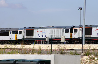 58 011 at Ocquerre Base on 3rd August 2005
