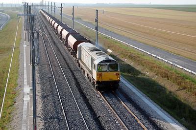 1) 58 035 near Bouy (D21 road bridge) on 4th August 2005