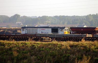 58 004 at St Hilaire au Temple on 4th August 2005