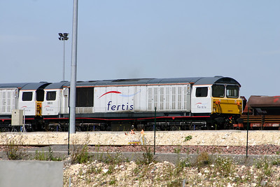 58 010 at Ocquerre Base on 3rd August 2005