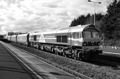 4) 59 001 at Swindon on 23rd February 2016