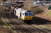 1) 60 066 at Warrington Arpley Junction on 26th February 2014