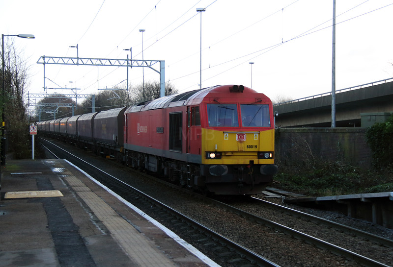 60 019 at Broad Green on 10th December 2014 (3)