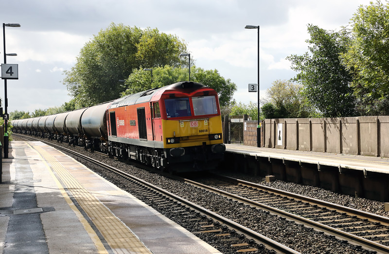 60059 at Tamworth High Level on 13th September 2017