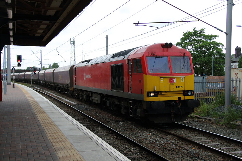 60 079 at Warrington Bank Quay on 13th June 2013