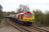 60 001 at Tamworth High Level on 18th April 2016